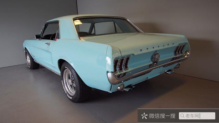 Ford - Mustang 302 V8 - 196760 作者:老爷车