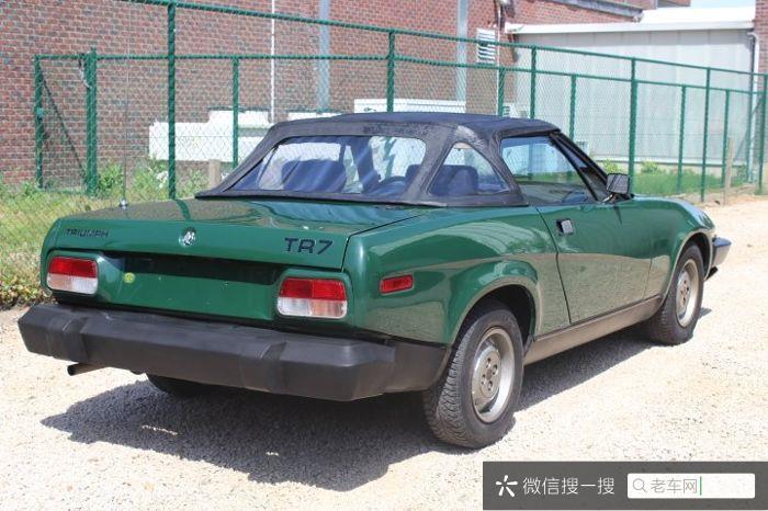 Triumph - TR7 - 198019 作者:老爷车