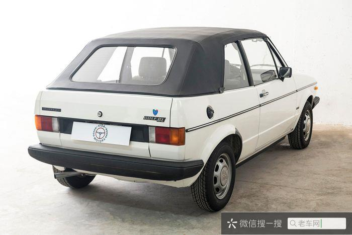 Volkswagen - Golf Karmann Cabrio  - 198431 作者:老爷车