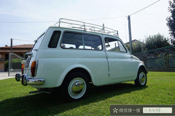 Fiat - Autobianchi 120 (500 Giardiniera) - NO RESERVE - 1964762 作者:老爷车