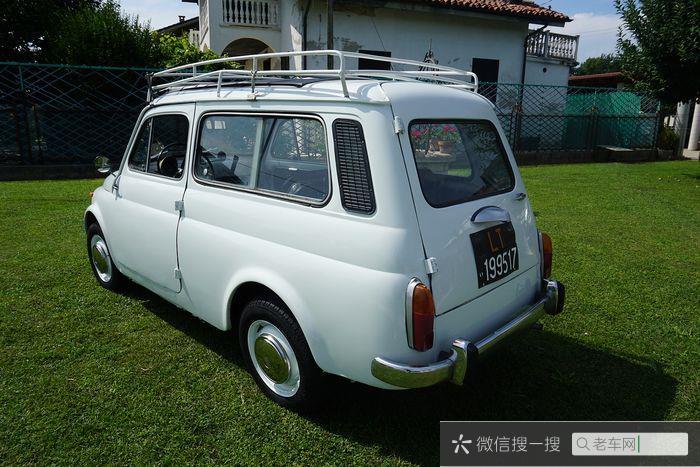 Fiat - Autobianchi 120 (500 Giardiniera) - NO RESERVE - 1964693 作者:老爷车