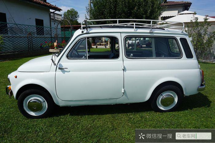 Fiat - Autobianchi 120 (500 Giardiniera) - NO RESERVE - 1964196 作者:老爷车
