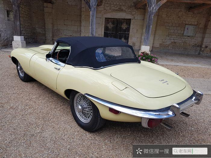 Jaguar - E-Type 4.2 cabriolet - 1970399 作者:老爷车