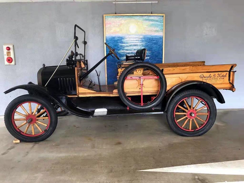 老爷车 古董车 影视剧用车 摄影 1919年福特T型木制皮卡164 作者:F2大森古典车