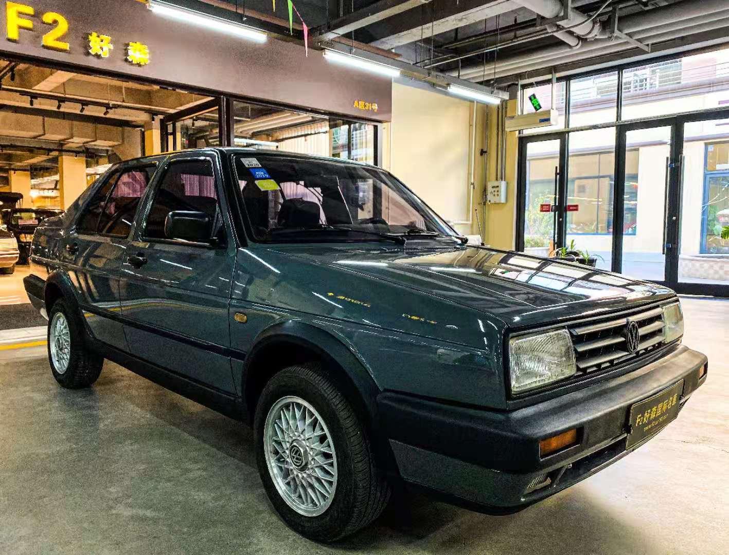 经典车 极具收藏意义的2000款老款捷达。177 作者:F2大森古典车