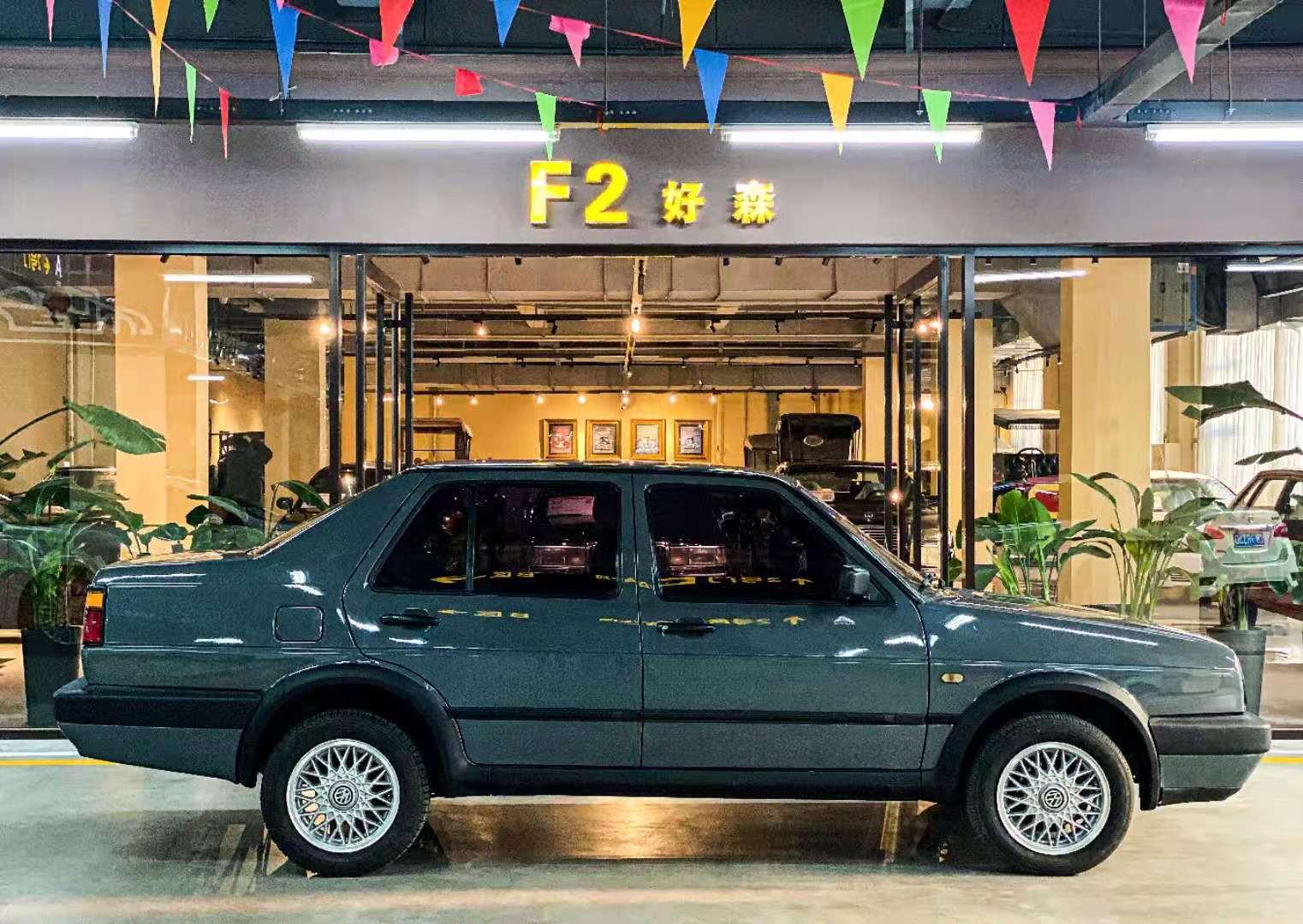 经典车 极具收藏意义的2000款老款捷达。350 作者:F2大森古典车